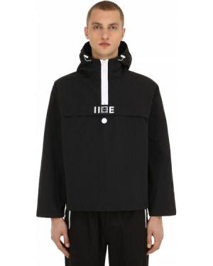 Czarna kurtka z kapturem Iise