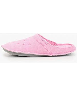 Домашние тапочки розовый Crocs