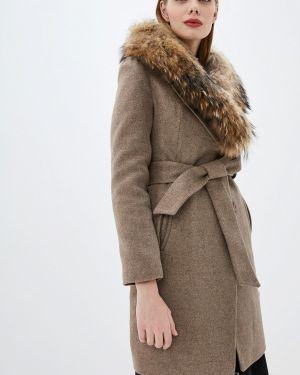 Зимнее пальто бежевое пальто Karolina