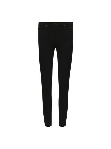 Облегающие хлопковые черные джинсы-скинни с пайетками Ag