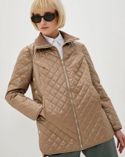 Бежевая утепленная куртка Argent