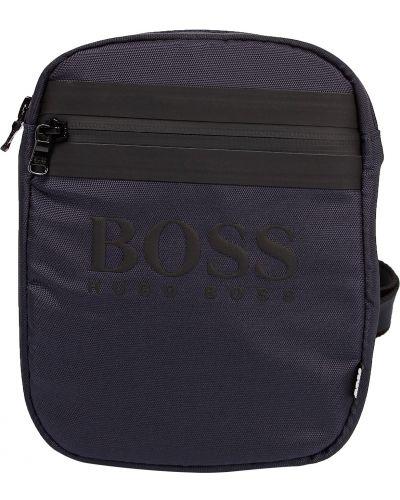 Синяя сумка Hugo Boss