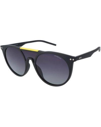 Czarne okulary Polaroid