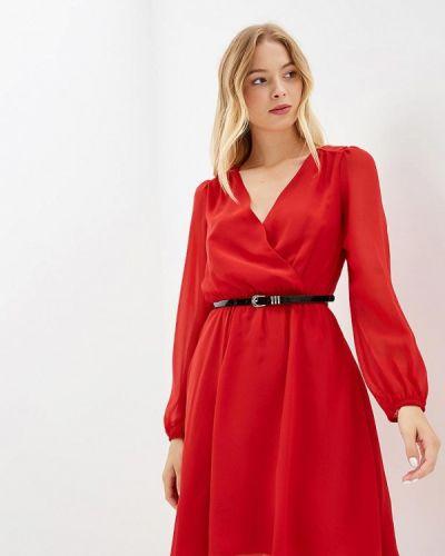 Платье с длинными рукавами осеннее Love Republic