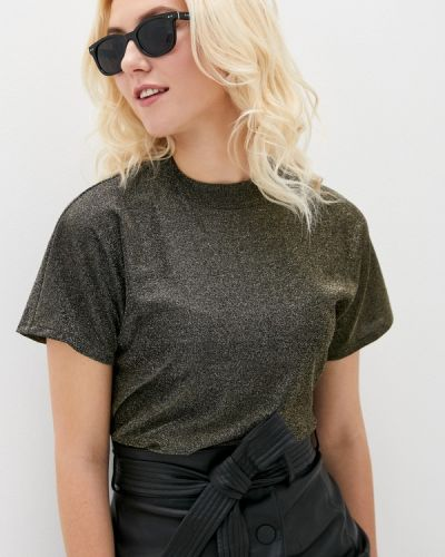 Блузка с короткими рукавами золотая Marks & Spencer