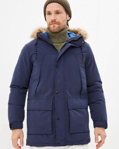 Синяя куртка утепленная Produkt