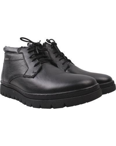 Черные ботинки Konors