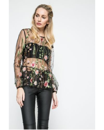 Блузка прямая с рюшами Answear