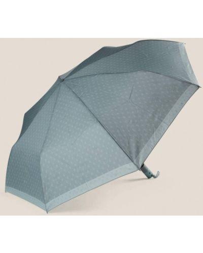 Бирюзовый складной зонт Oysho
