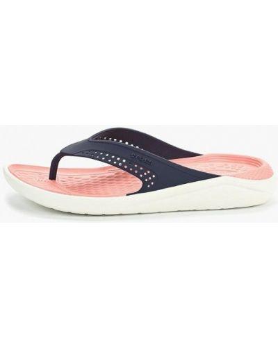 Сланцы пляжные синий Crocs