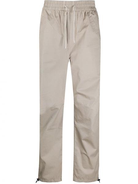 Spodnie sportowe o prostym kroju z kieszeniami Maison Kitsune
