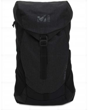 Czarny plecak klamry Millet
