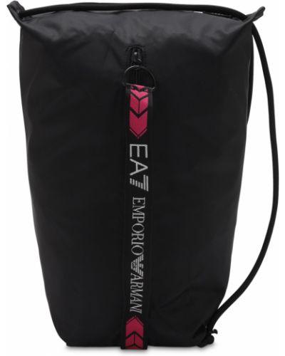 Рюкзак на бретелях с карманами Ea7 Emporio Armani