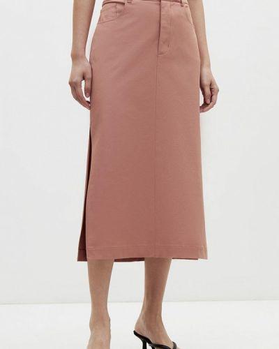 Салатовая прямая юбка Lime