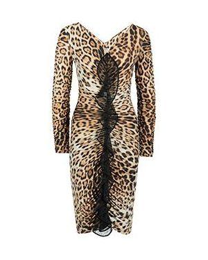 Платье леопардовое Roberto Cavalli