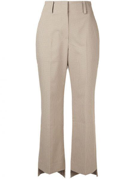 Укороченные брюки брюки-хулиганы дудочки System