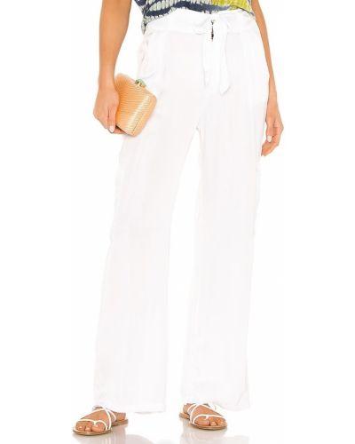 Białe majtki z wiskozy Young, Fabulous & Broke