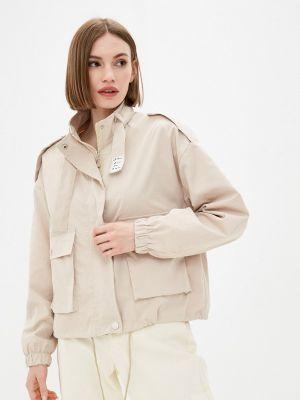 Бежевая облегченная куртка Grafinia
