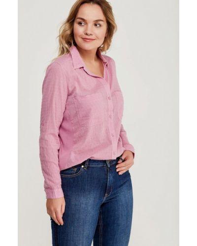 Розовая блузка Violeta By Mango