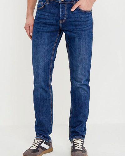 Прямые джинсы синий демисезонный Colin's