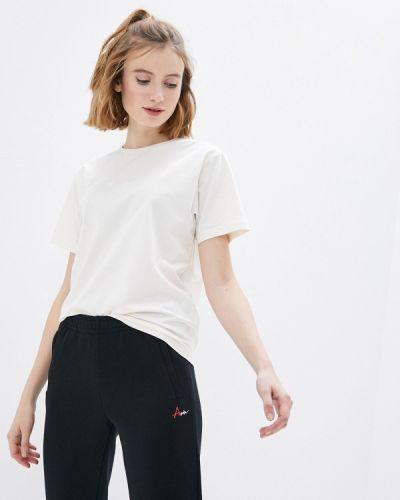 Бежевая футболка Anta