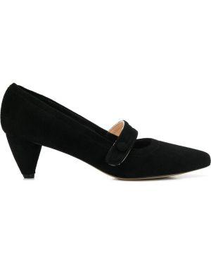 Черные туфли-лодочки на каблуке Lenora