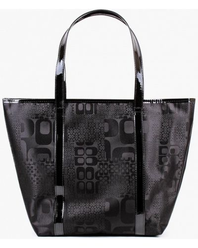 Черная сумка шоппер медведково