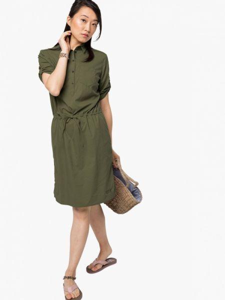 Платье платье-сарафан зеленый Jack Wolfskin