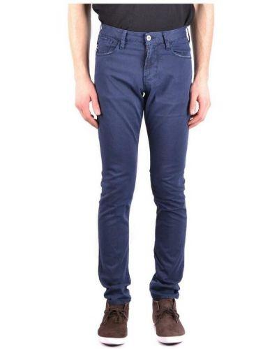Spodnie - niebieskie Armani Jeans