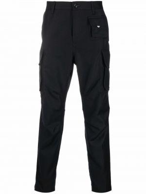 Spodnie wełniane - czarne Diesel