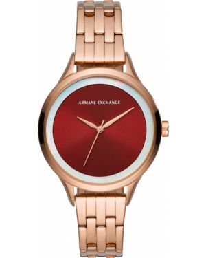 Zegarek burgundia Armani Exchange