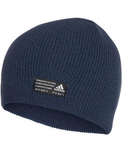 Шапка бини - синяя Adidas