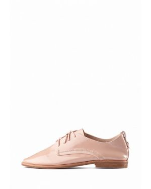 Кожаные ботинки - розовые Stefano Lompas