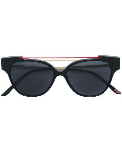 Солнцезащитные очки черные хаки La Petite Lunette Rouge