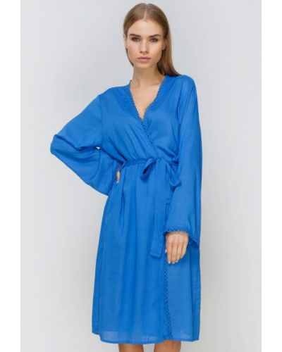 Синий домашний халат Cyberjammies