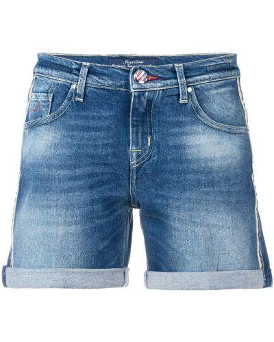 Хлопковые шорты - синие Jacob Cohen