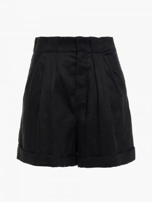 Черные льняные шорты Equipment