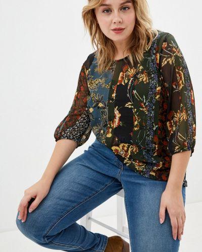 Блузка зеленый Ulla Popken