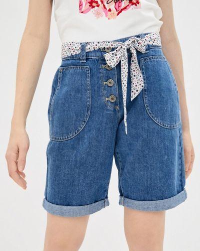 Синие джинсовые шорты Gerry Weber