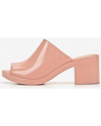 Сабо на каблуке розовый Melissa