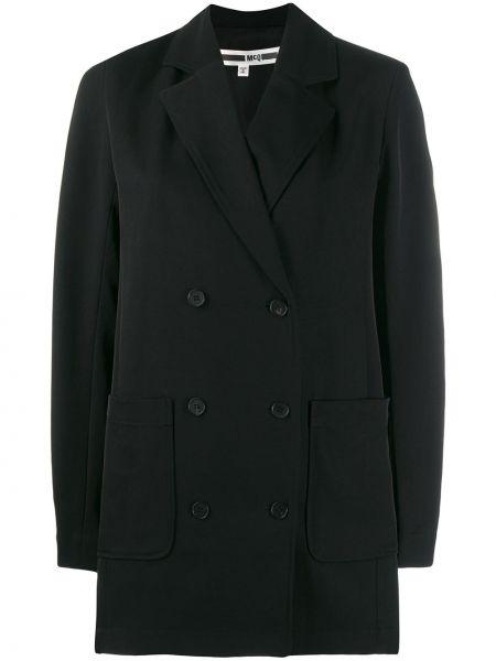 Куртка черная с карманами Mcq Alexander Mcqueen