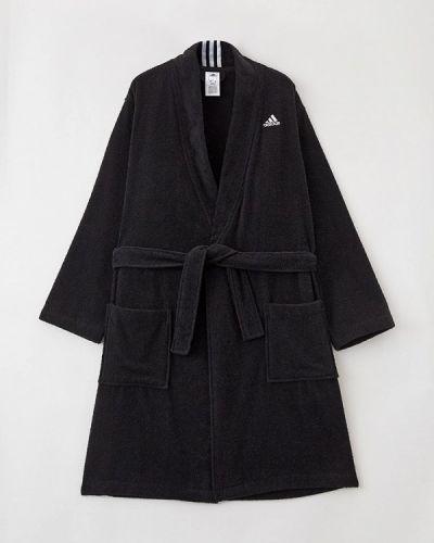 Домашний халат - черный Adidas
