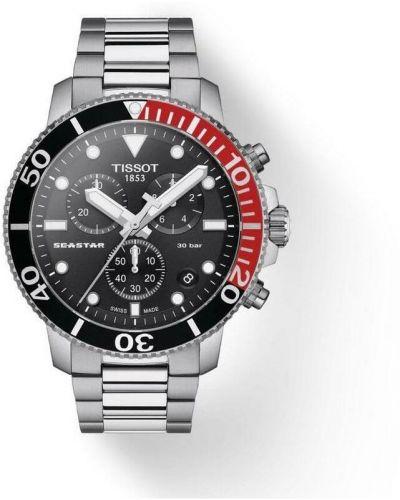 Szary zegarek sportowy Tissot