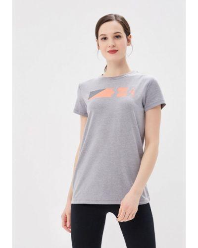 Серая спортивная футболка Under Armour