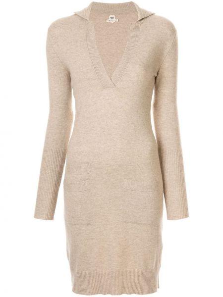 Платье винтажная в рубчик Hermes