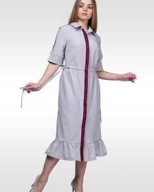 Платье сафари платье-рубашка Lila Classic Style