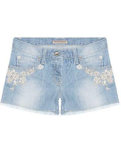 Шорты джинсовые хлопковые Ermanno Scervino