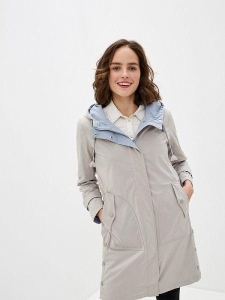 Утепленная куртка - серая Clasna