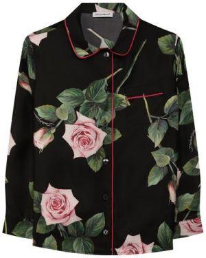 Блуза шелковый Dolce & Gabbana