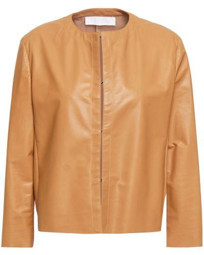 Кожаная куртка - коричневая Drome